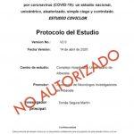 protocolo estudio covid